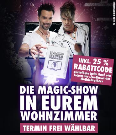 1. MAGIC-SHOW IN EUREM WOHNZIMMER - OnDemand